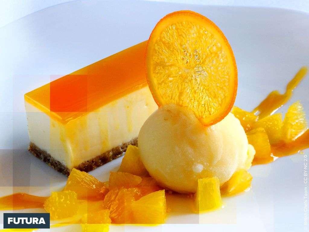 Fondants sorbet orange citron