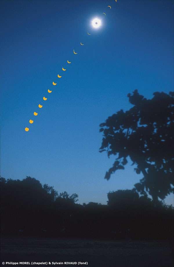 Un élégant chapelet d'éclipses