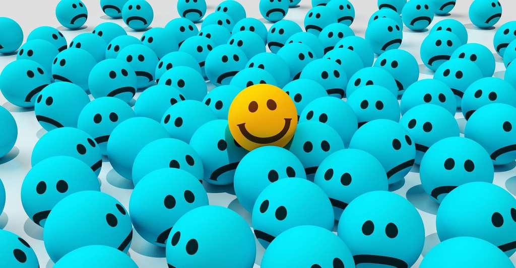 Peut-on mesurer le bonheur ? Comment savoir si l'on est heureux ? © CreativeMagic, Pixabay, DP