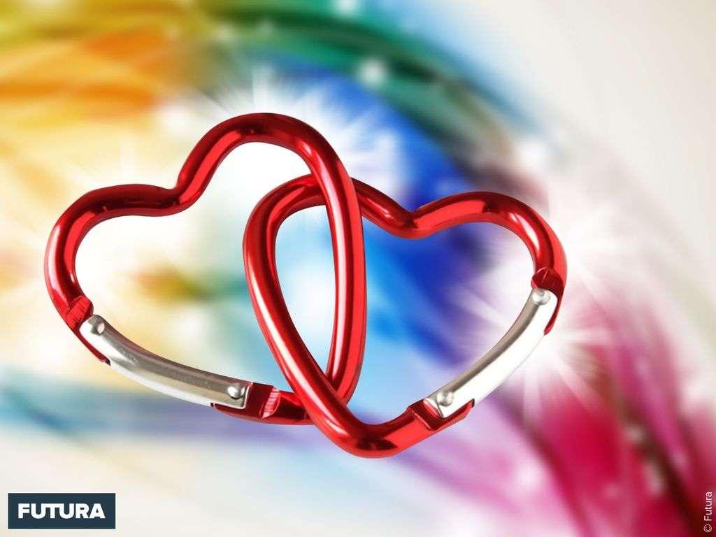 Saint-Valentin coeurs entrelacés