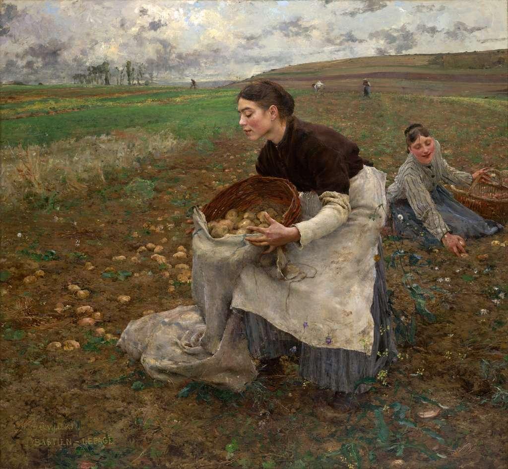 Octobre par Jules Bastien-Lepage, en 1878. National Gallery of Victoria, Melbourne, Australie. © Wikimedia Commons, domaine public