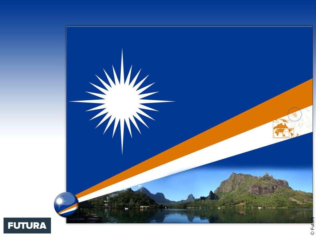 Drapeau : Îles Marshall