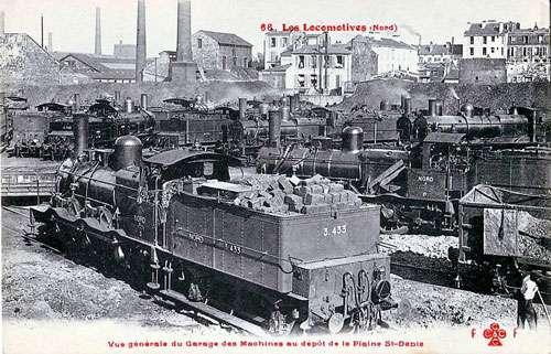 Dépôt de la plaine Saint-Denis. © Domaine public