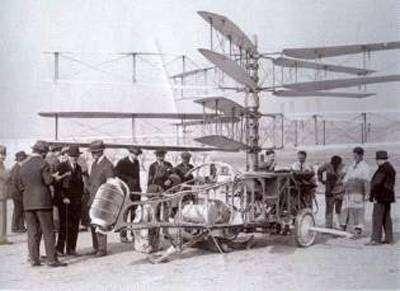Hélicoptère du marquis de Pescara