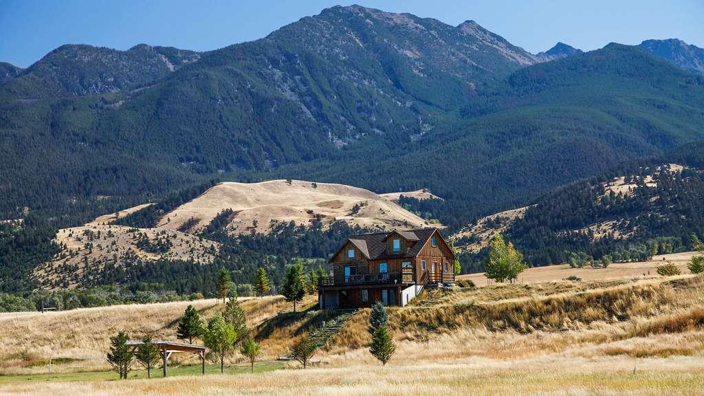 Maison de bois au cœur de la vallée du paradis (Paradise Valley)
