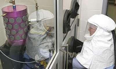 Laboratoire de lutte contre le terrorisme biologique