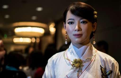 Jia Jia a fait sensation pour son réalisme poussé et le charme indéniable qu'elle parvient à dégager. © Phys.org