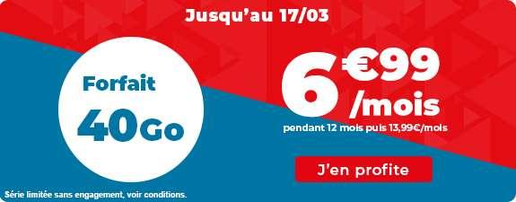 Forfait 60Go en promo © Auchan Telecom