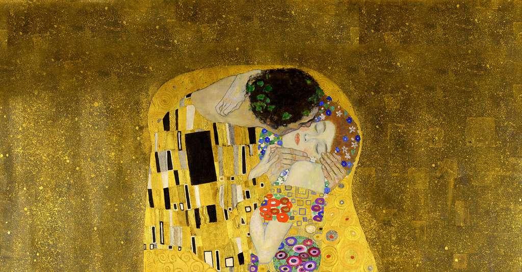 Le sexe est-il un antistress ? Ici, Le Baiser, de Klimt. © Google Art Project, Wikimedia Commons, DP