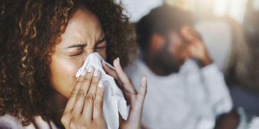 Moins stressé, moins d'allergies ? © PeopleImages, istockphoto.com