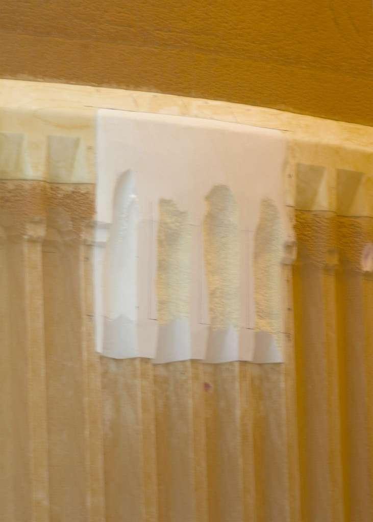 Réparation des fissures sur le réservoir externe de Discovery, qui n'a pas empêché la Nasa de reporter le lancement. © Nasa/Cory Huston
