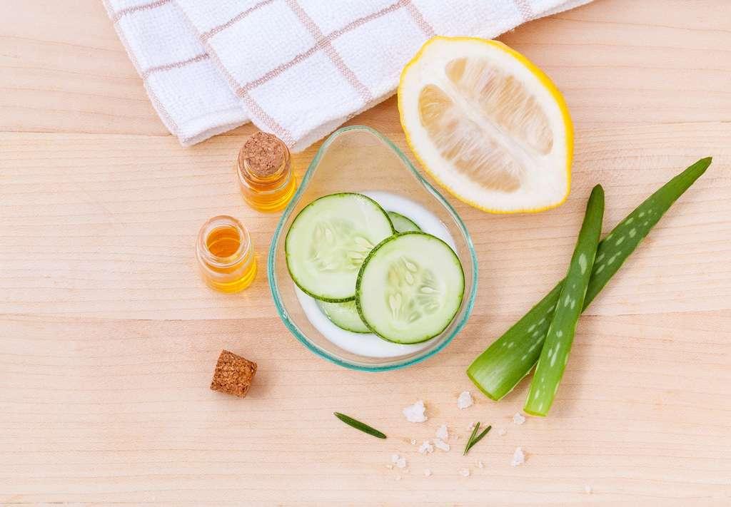 Fabriquer ses propres cosmétiques permet de maîtriser la composition des produits que l'on s'applique quotidiennement sur la peau. © kerdkanno by Pixabay