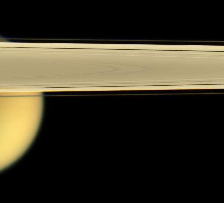 Titan, le plus grand satellite de Saturne