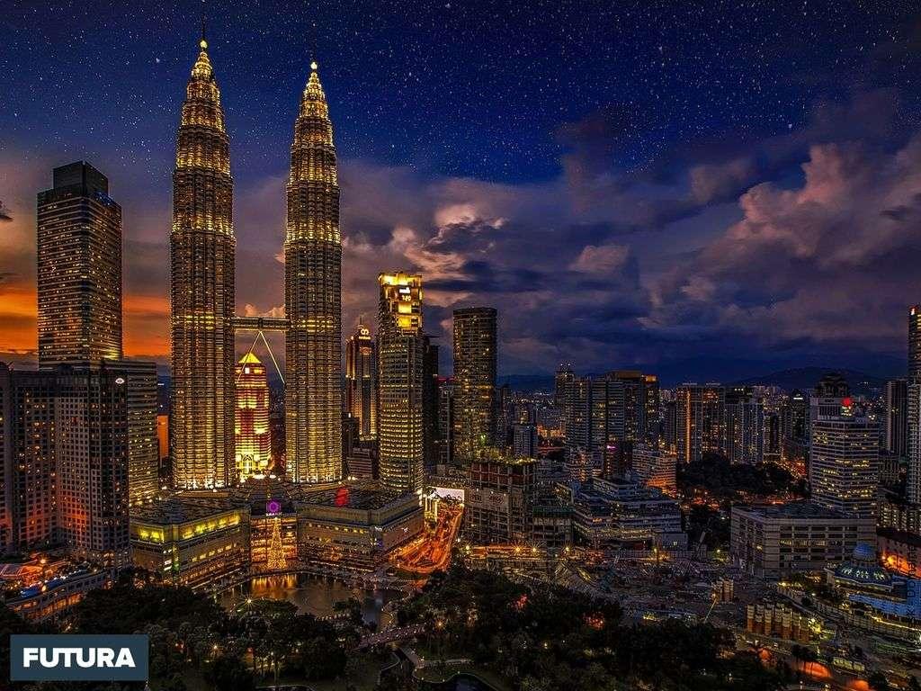 Malaisie Kuala Lumpur, tours jumelles Petronas