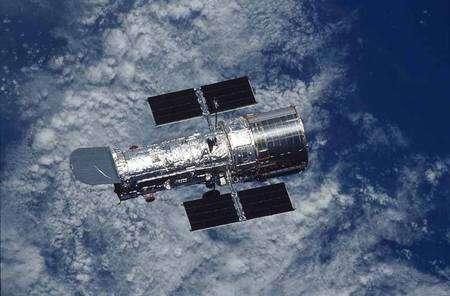 Le télescope spatial Hubble en orbite. Crédit Nasa