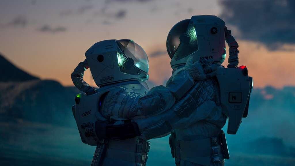 Le rapport sur la sexualité des astronautes dans l'espace souligne que « le plaisir n'est pas optionnel mais essentiel ». © Gorodenkoff, Adobe Stock