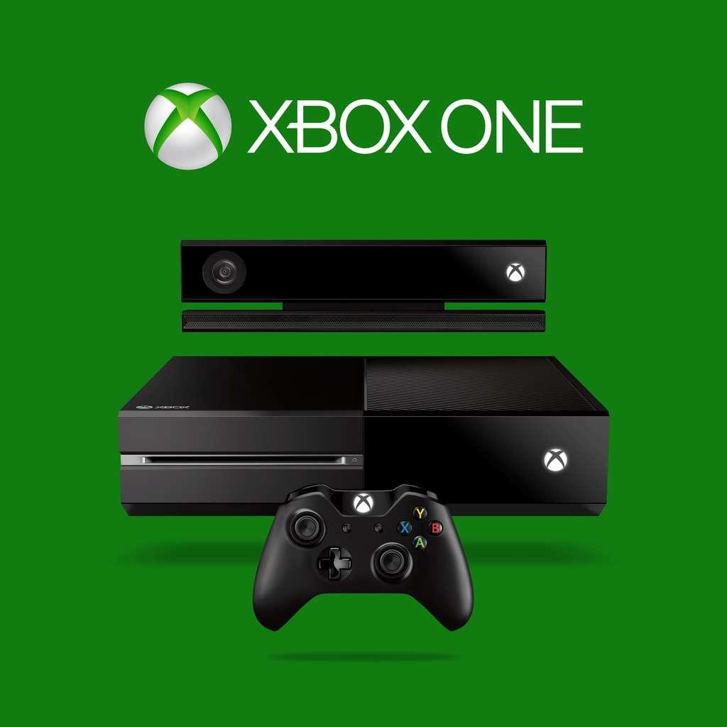 La console Xbox One avec sa manette et le nouveau capteur Kinect. Microsoft a volontairement opté pour un design très sobre qui s'apparente à un boîtier multimédia plus qu'à une console de jeu. © Microsoft