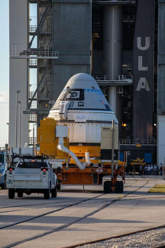 La capsule habitée Starliner de Boeing. © Nasa, Boeing
