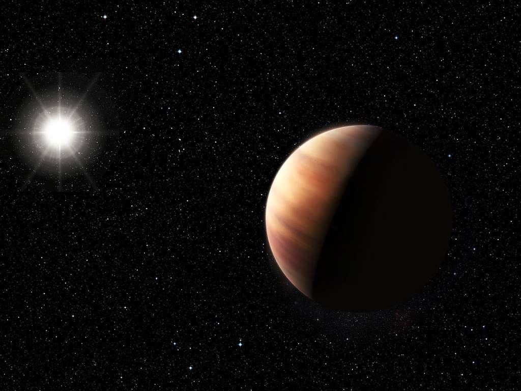 Une géante gazeuse autour d'un jumeau du Soleil
