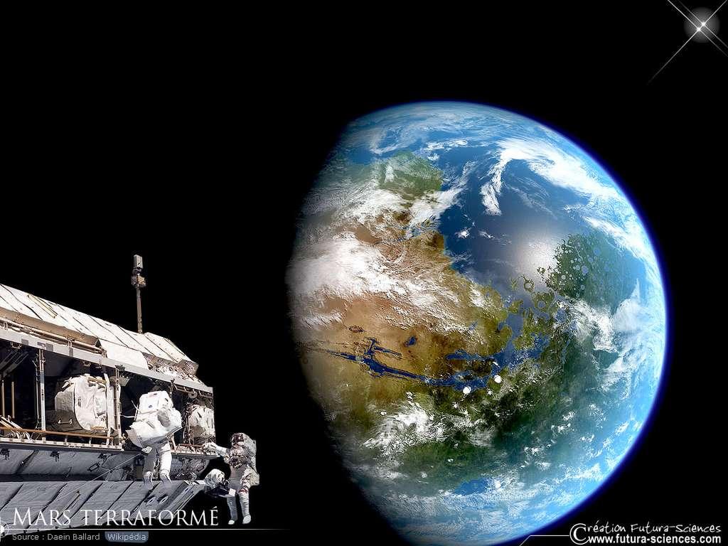 Mars Terraformé