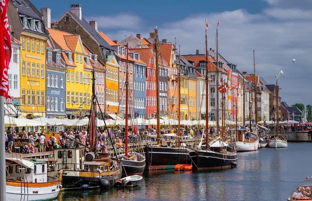 Ville côtière du Danemark. © PhotoDrishi, Pixabay, DP