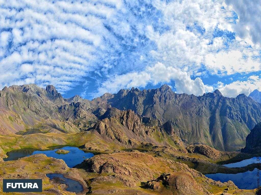 Les montagnes du Kaçkars en Turquie