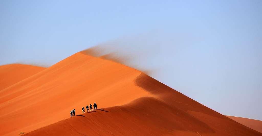 Dunes de sable Sahara. © Unsplash Domaine public