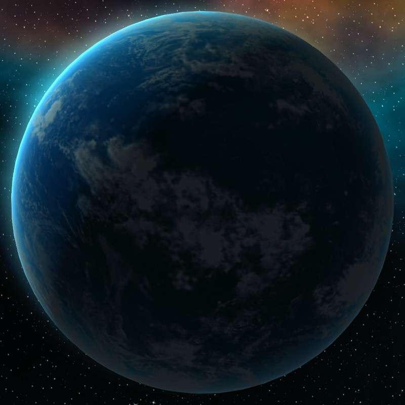 Vue de la planète océan Kamino. © Lucasfilm, Disney