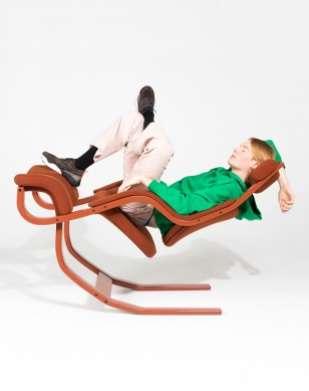 La Gravity Balans pour Varier Furniture a été créée en 1983 par Peter Opsvik. © Instagram Varier Furniture