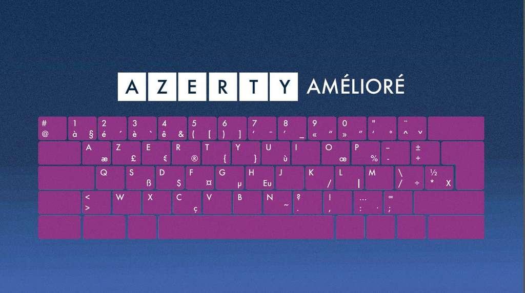 Pas de grands changements sur ce clavier puisque toutes les lettres de l'alphabet sont comme sur un clavier classique. © Afnor
