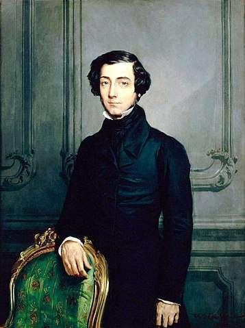 Portrait d'Alexis de Tocqueville. © RMN-Grand Palais – D. Arnaudet, Wikimedia commons, DP