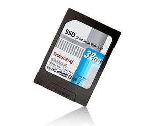 Le disque SSD de Transcend dans son boîtier métallique, à enficher dans un connecteur IDE. Crédit : Transcend.