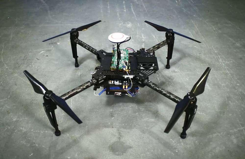 Intelligent Energy compte profiter du salon CES de Las Vegas (États-Unis) pour montrer ses prototypes de piles à hydrogène pour drones et smartphones. © Intelligent Energy