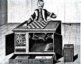 L'automate joueur d'échec de von Kempelen. © DR