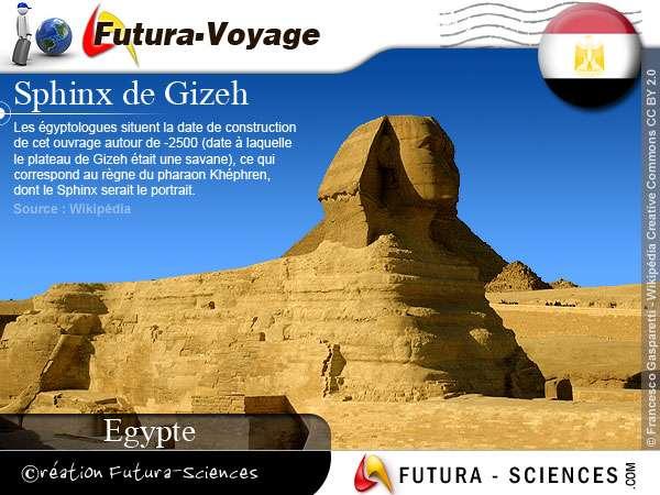 Sphinx de Gizeh - Egypte