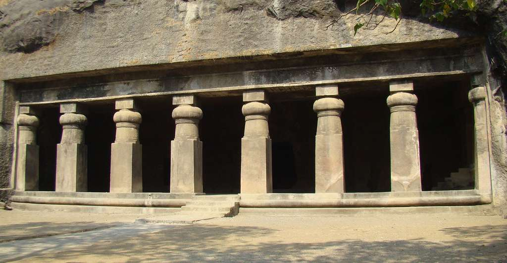 Temples à Elephanta. © Patilvarun, Wikimedia commons, CC by-sa 3.0
