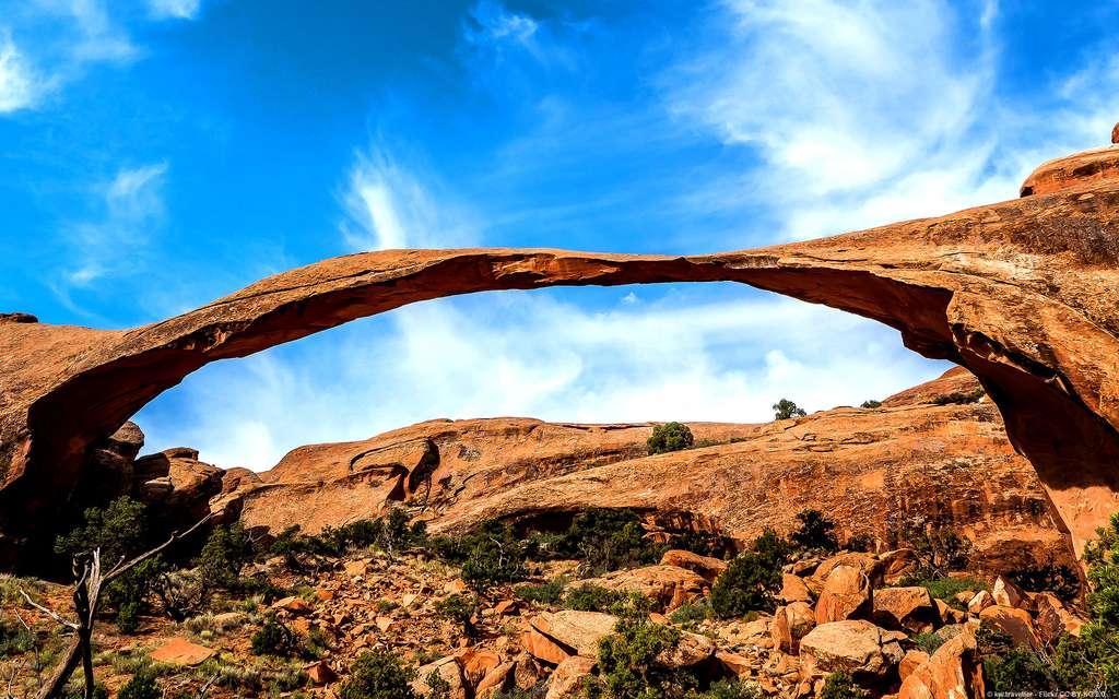 La Landscape Arch, au parc national des Arches