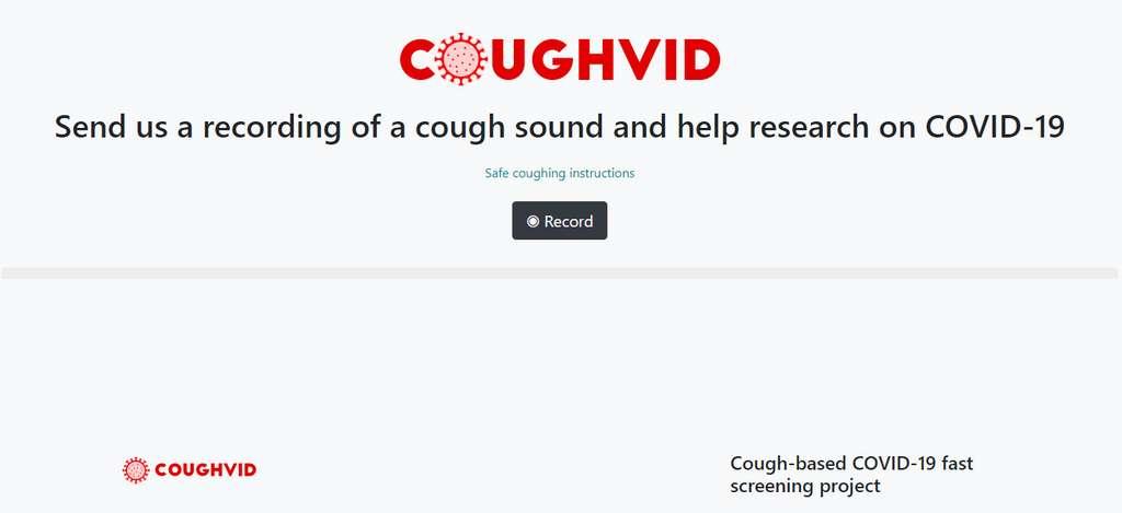 À Lausanne, des chercheurs proposent aussi une application en ligne pour enregistrer la toux et ainsi aider la recherche. © EPFL