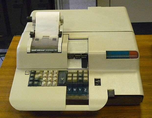 L'Olivetti Programma 101 est considéré comme le premier ordinateur de bureau. © AlisonW, CC by-sa 3.0