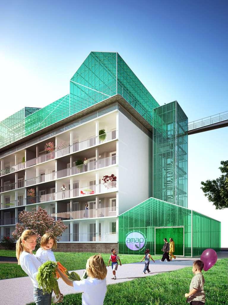 La transformation de la cité HLM Marcel-Cachin, en Seine-Saint-Denis
