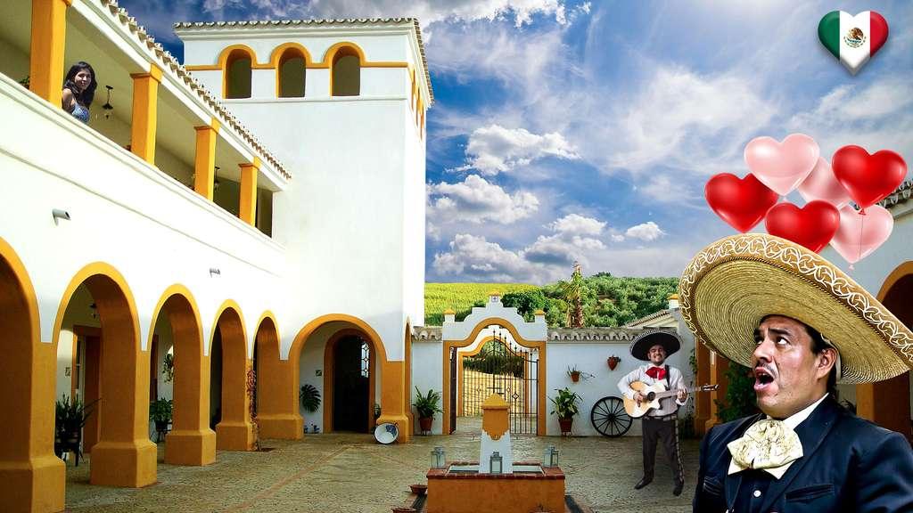Au Mexique, une fête de l'amour et de l'amitié