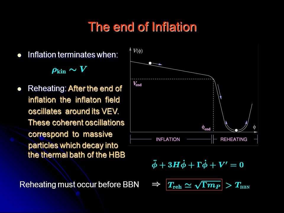 Les modèles de cosmologie inflationnaires reposent souvent sur l'existence d'un champ scalaire qui interagit avec lui-même en donnant une densité d'énergie sous forme d'un potentiel dans le cosmos observable. Lorsque ce potentiel n'était pas de valeur nulle, il se comportait dans les équations d'Einstein comme une énergie noire accélérant l'expansion du cosmos, de façon très transitoire mais vertigineuse. © Konstantinos Dimopoulos