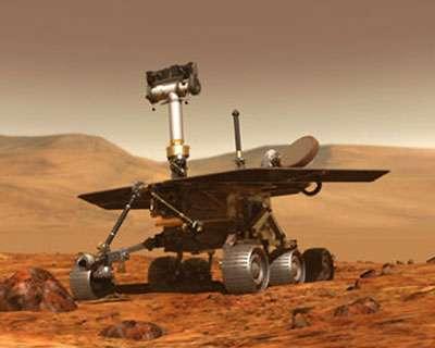 Le robot Mars MER