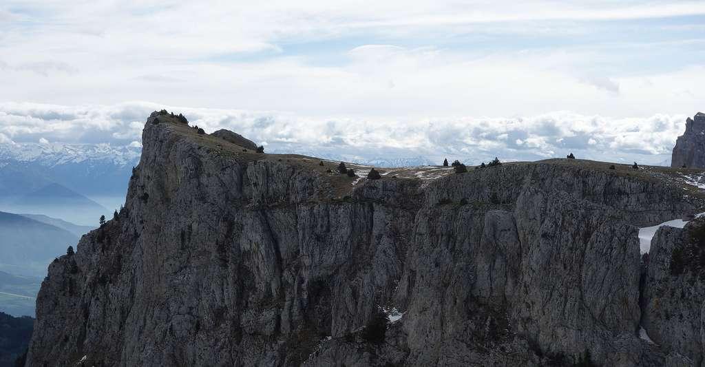 Réserve naturelle nationale des hauts plateaux du Vercors, sommet de Peyre-Rouge. © Manastirile, CC BY-SA 3.0