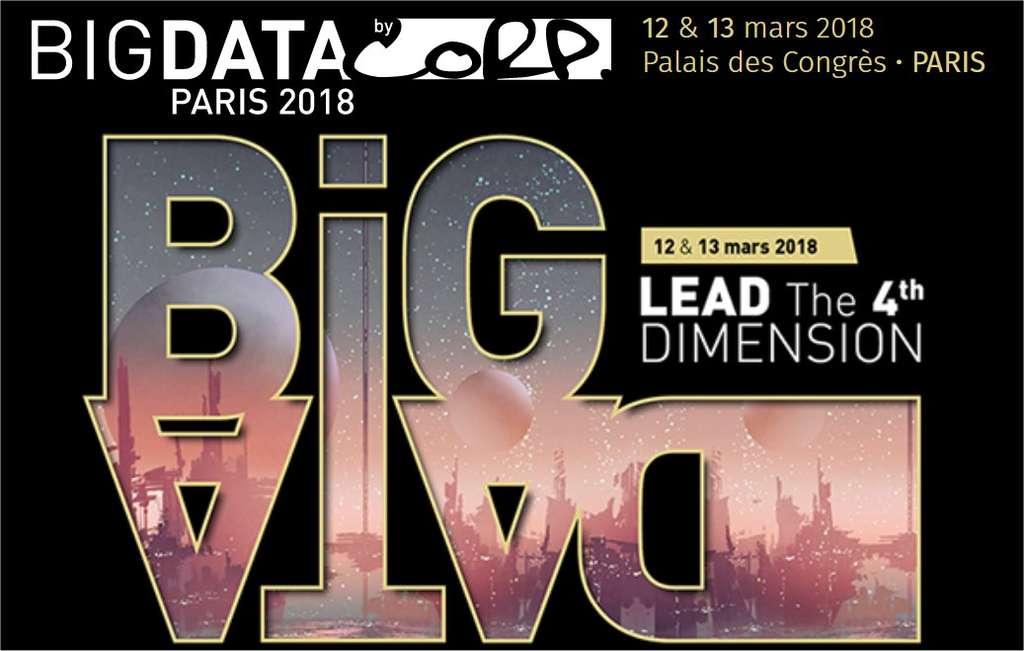 Rendez-vous les 12 et 13 mars au Palais des congrès, à Paris. © Salon Big Data
