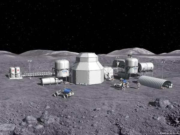 Concept de base lunaire