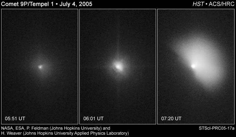 Collision capturée par Hubble