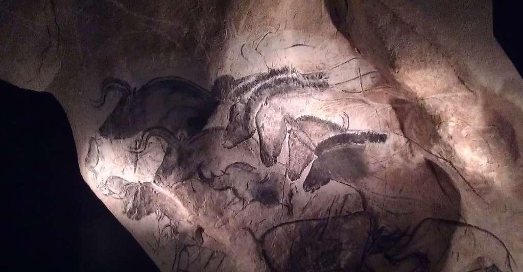 Peintures Grotte Chauvet. © Nachosan, Wikimedia commons, CC by-sa 3.0