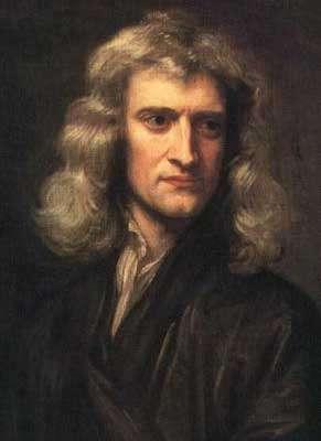 Portrait d'Isaac Newton réalisé par Godfrey Kneller