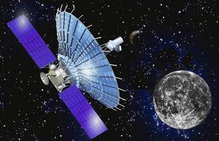 RadioAstron en orbite (vue d'artiste)